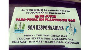 El martes podría verse afectada la provisión de garrafas en Entre Ríos