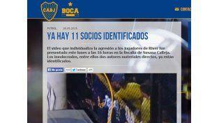 El comunicado de Boca tras conocer los agresores