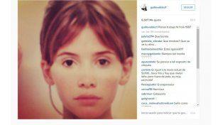 Guillermina subió a Instagram una foto retro de 1997: ¡Mirá cómo era la modelo a esa edad!