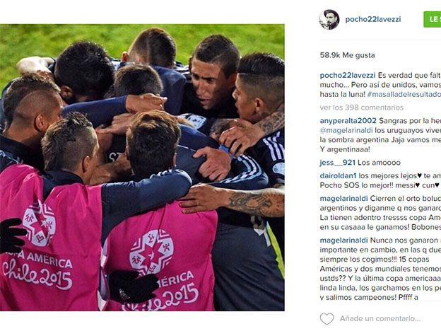 La foto más popular del Pocho Lavezzi en Instagram