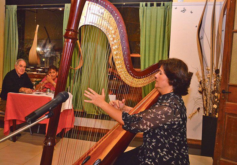 Recital de arpa de Marcela Méndez