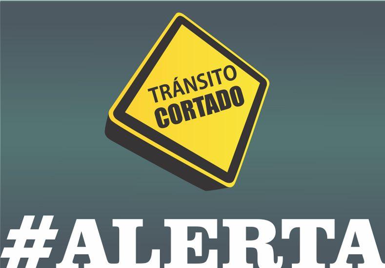 Corte de tránsito por trabajos en calles Urquiza y Perón