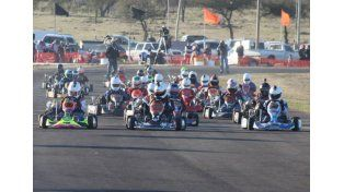 Un total de 200 kartistas se dieron cita en el circuito del centro provincial.