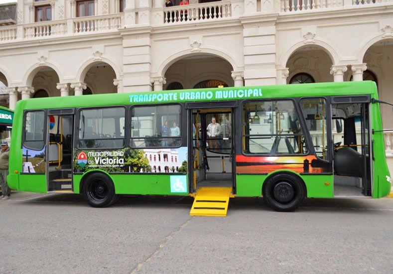 Nuevo sistema público. Las unidades permiten el ingreso de personas en silla de ruedas.