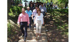 Urribarri expresó su apoyo a la reelección de Blanca Osuna en la Intendencia de Paraná
