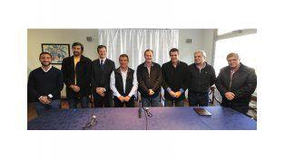 Urribarri presentó a sus candidatos en Concordia