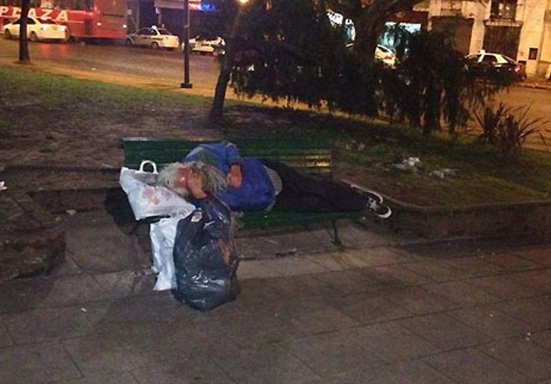 Funciona en Paraná un refugio temporal para personas en situación de calle