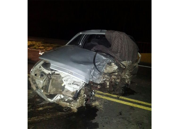 Fatal accidente de tránsito en la ruta nacional 12