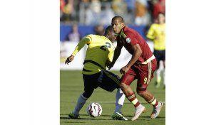 Venezuela sorprendió y venció por primera vez a Colombia en una Copa América