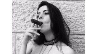 La foto hot de Victoria Vannucci con la que festeja Matías Garfunkel