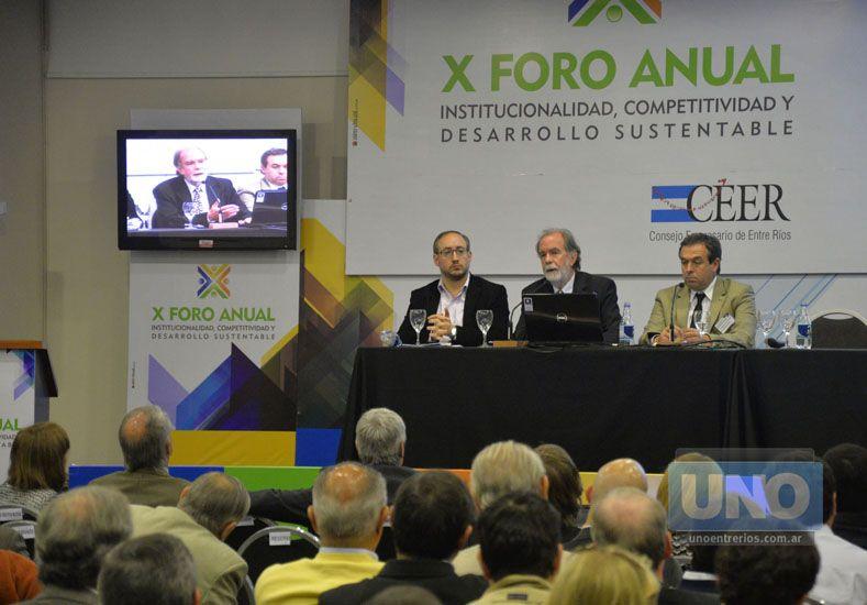 Encuentro. El foro ha sido un espacio para la reflexión y el análisis sobre la realidad del sector.  Foto UNO/Mateo Oviedo