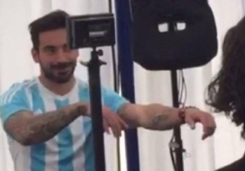 ¡Quedate quieto!: así de difícil fue filmar el spot oficial de la Copa con Lavezzi