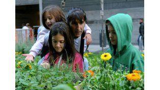 Compartir. Con los hijos y volver a la naturaleza es una de las claves para combatir las adicciones.  Foto: Télam