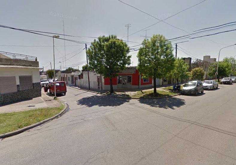 El local asaltado. (Foto: Google Street View)
