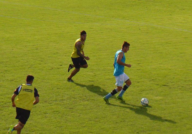 Ariel Lederhos encabeza el ataque Mondonguero. El Colo suplantó a Franco Chiavarini.  Foto Gentileza/Prensa Club Belgrano
