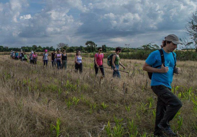 Turismo y ecología. El senderismo gana nuevos adeptos.  Foto Gentileza/Litoral Ecoturismo - M. Reynoso
