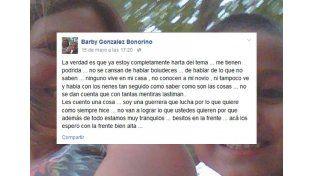 La madre del nene muerto a golpes por el padrastro defendió a su pareja en Facebook