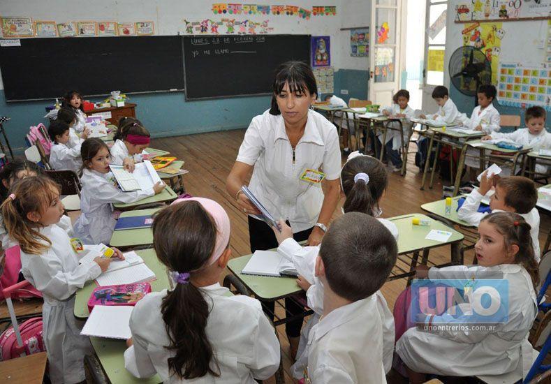 Las becas benefician a alumnos de escuelas Primarias. Foto UNO/Archivo ilustrativa
