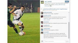 todos los saludos todos. Eric publicó la foto del debut en Instagram y rápidamente tuvo una gran repercusión. Saludos de amigos
