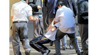 Violencia. A la Unesco le llamó la atención la Argentina.  Foto Internet ilustrativa