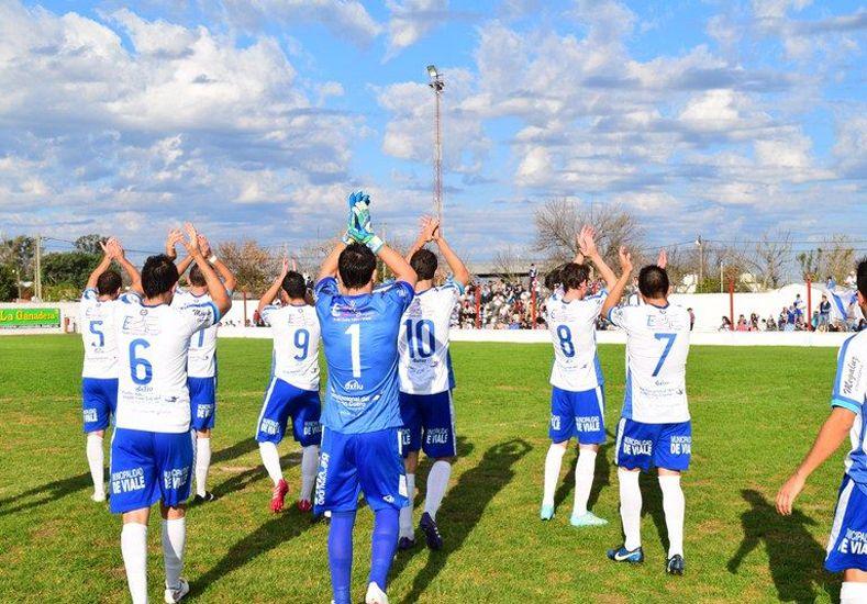 El equipo de Viale ayer se hizo fuerte en María Grande. Lleva tres ganados en Paraná Campaña.  Foto Gentileza/Micrófono Digital