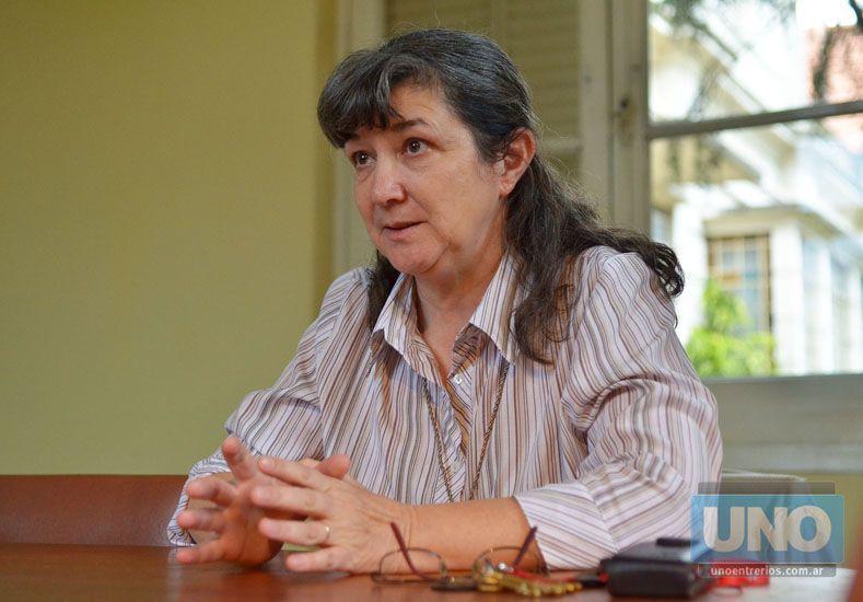 Silvia. Es del movimiento religioso ya centenario en la región. Foto UNO/Archivo