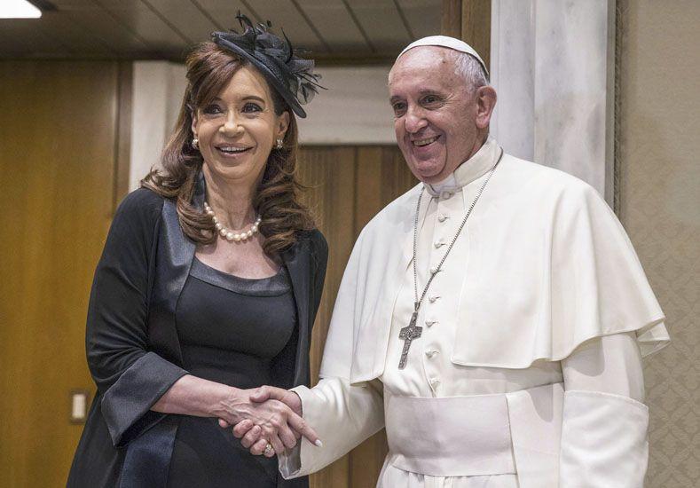 La Presidenta y el papa Francisco se reunieron en Roma por quinta vez en dos años