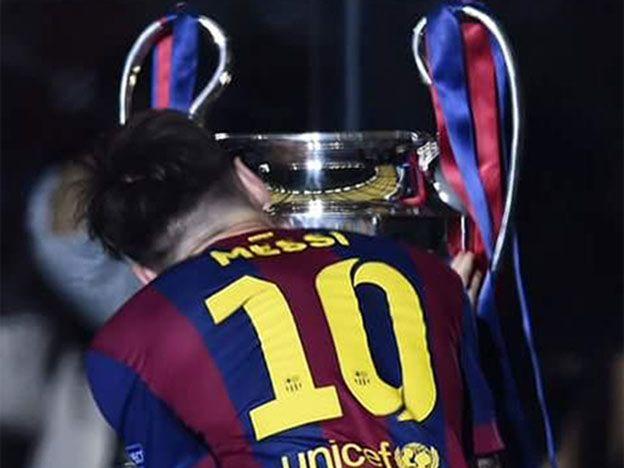 ¡Sorpresa! Mirá con quién desayunó Messi