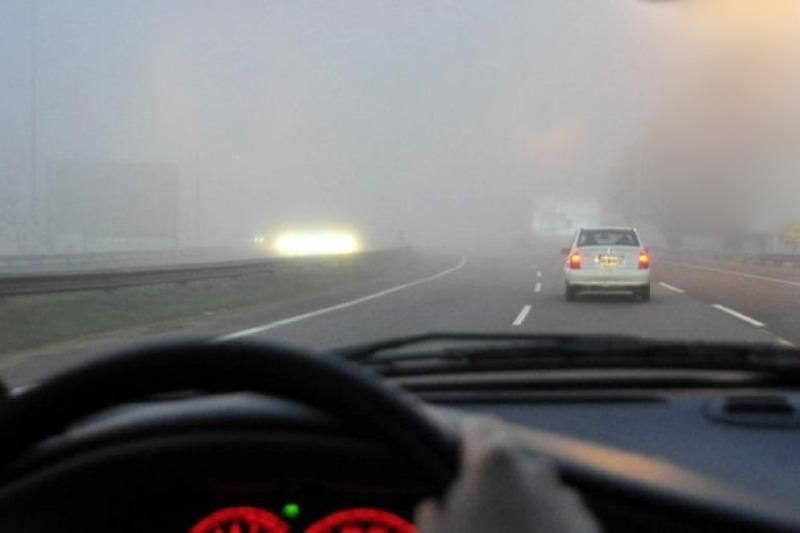 Alertan por la presencia de bancos de niebla en rutas
