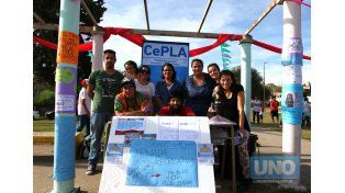 En Anacleto se unen por la salud del ambiente, la paz y el amor