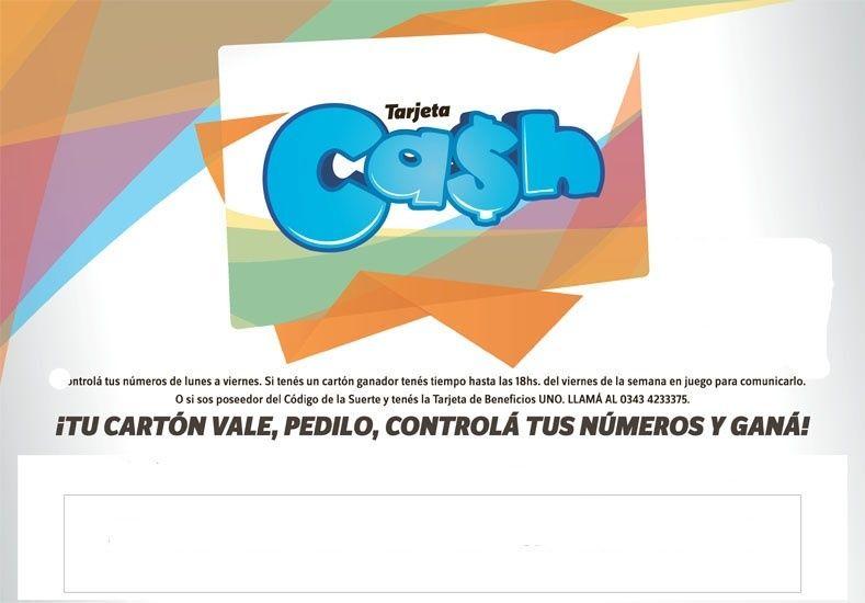 Estos son los números de la tarjeta CASH de la semana del 1 al 5 de junio
