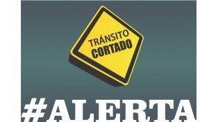 Corte de tránsito por obras en calle Cura Álvarez