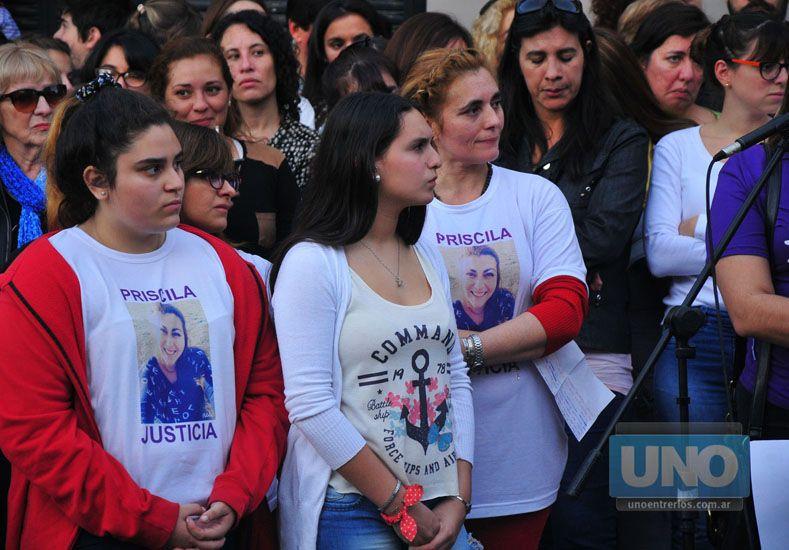 El recuerdo doloroso de la mamá de Priscila    Foto UNO/Juan Manuel Hernández