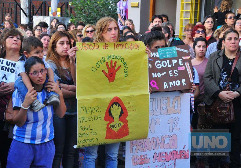 Multitudinario. Millones de personas se expresaron en más de un centenar de actos en la Argentina.   Foto UNO/Juan Manuel Hernández