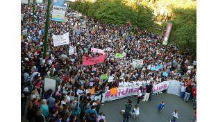 Un reclamo que colmó las plazas entrerrianas