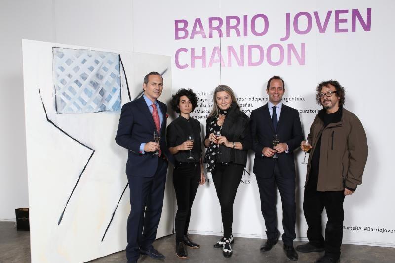 """Premio adquisición Chandon a """"Sin título"""" de la artista Valeria Maggi"""