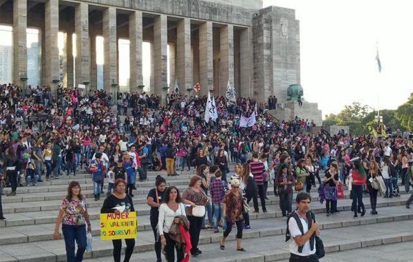 La marcha se replicó en todos los puntos del país.
