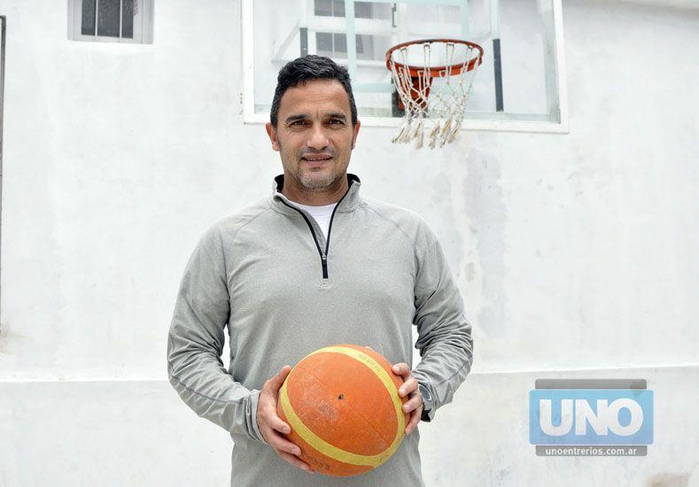 El último cargo de Martín fue como director técnico de Zaninetti en la Liga Provincial C.   Foto UNO/Mateo Oviedo