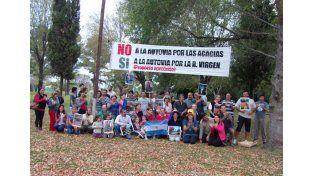 Resistencia. Ediles de Colonia Avellaneda aprobaron ordenanza de rechazo a la nueva traza. Dellizotti dijo que promulgará la norma. Foto: Facebook  Las Acacias
