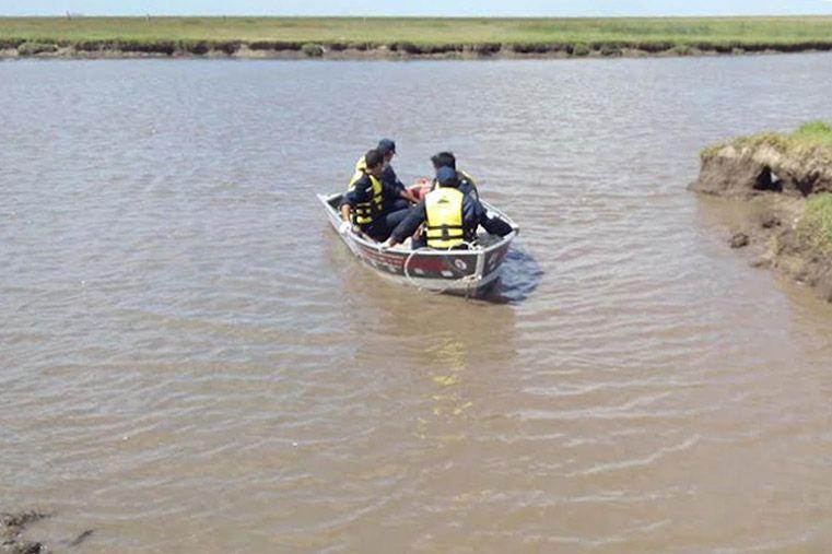 Se ahogó un hombre en el río Paranacito
