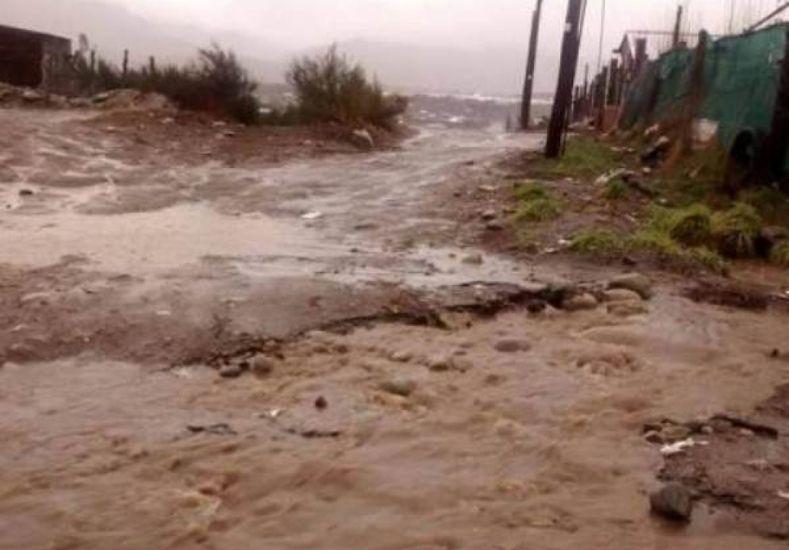 Un temporal arrasó la zona de Bariloche y El Bolsón