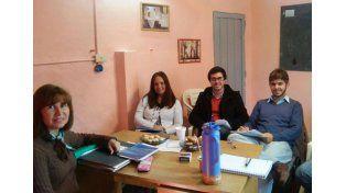 Equipos. El Centro Huella comenzó a trabajar en La Paz.
