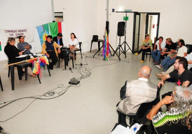 Difusión. El Ateneo de la Lengua Guaraní es uno de los espacios donde se rescata la memoria.