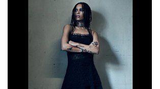 La hija de Lenny Kravitz entre el topless y la anorexia