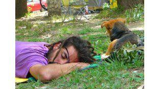 Mauro y Yala. Foto: Facebook