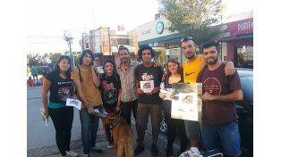 Laureano este fin de semana en Cosquín buscando a Yala.  Foto: Facebook