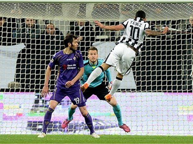 Dos golazos del Apache  en la victoria de la Juve ante Fiorentina