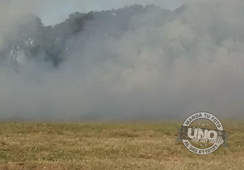 Los invadió el humo