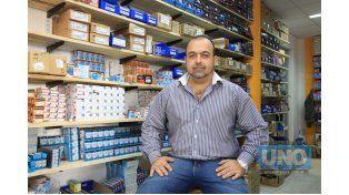 Emprendedor. Montero abrió hace 20 días su nuevo local y analiza anexar otros rubros. Foto UNO/Juan Ignacio Pereira