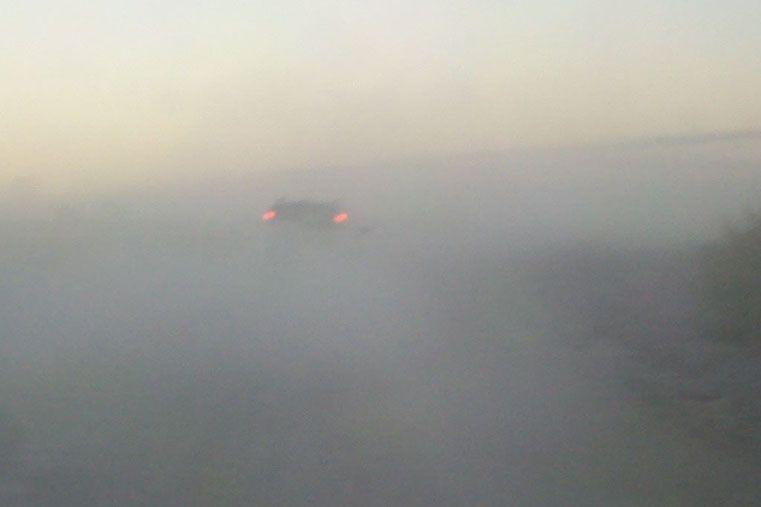"""""""Le pedimos a las autoridades que puedan dar solución a la brevedad sobre a la nula visibilidad por la que transitamos todos los días"""""""